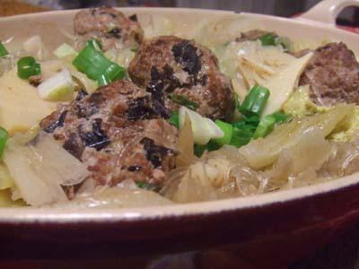 肉団子と白菜の中華風煮こみ