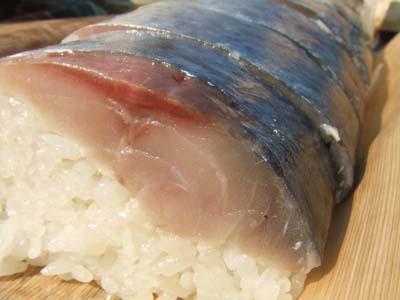 サバの棒寿司(バッテラ)
