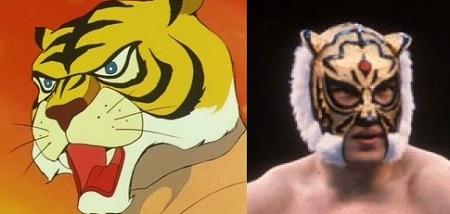 アニメタイガーマスクとプロレスの初代タイガー