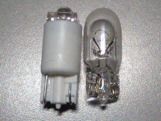 LEDポジションライト横