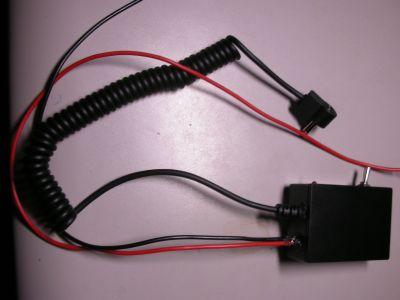 充電器改造5V給電ユニット