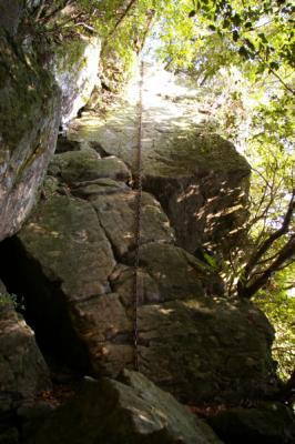 大岩のぼり