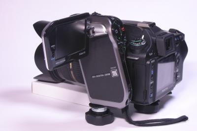 K100DとXacti HD700