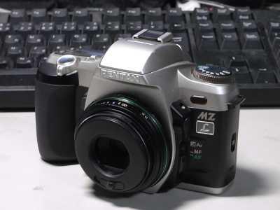 MZ-LにDA40mm Limited