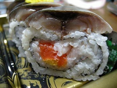 よこまち銀鯖棒寿司