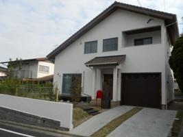 福岡・注文住宅 大野城市つつじヶ丘 ビルトインガレージのある北欧モダンの家