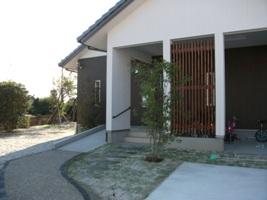 福岡・注文住宅 飯塚市下三緒 中庭のある和を感じる家