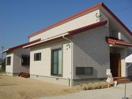 福岡・注文住宅 筑紫野市下見 北欧を思わせる平屋の家