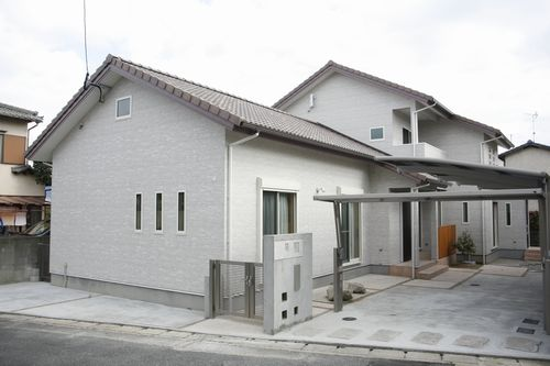 注文住宅・福岡市南区_二世帯が暮らす家。