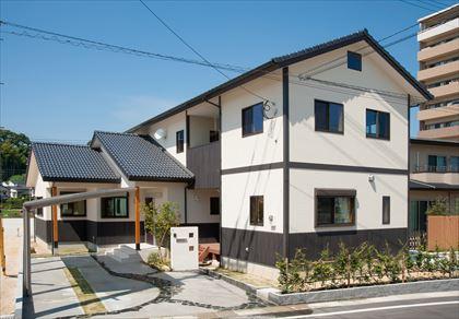 注文住宅 筑紫野市 2世帯で暮らす和の風情の住まい