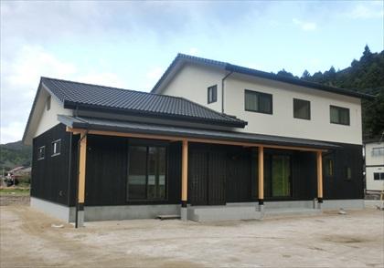 注文住宅 筑紫郡 那珂川町 外壁が杉板の和の住まい