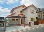 注文住宅 筑紫野市 木製サッシと混ぜ葺き瓦の住まい