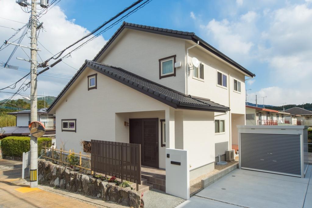 注文住宅 福岡市 木の温もりと和の雰囲気の住まい