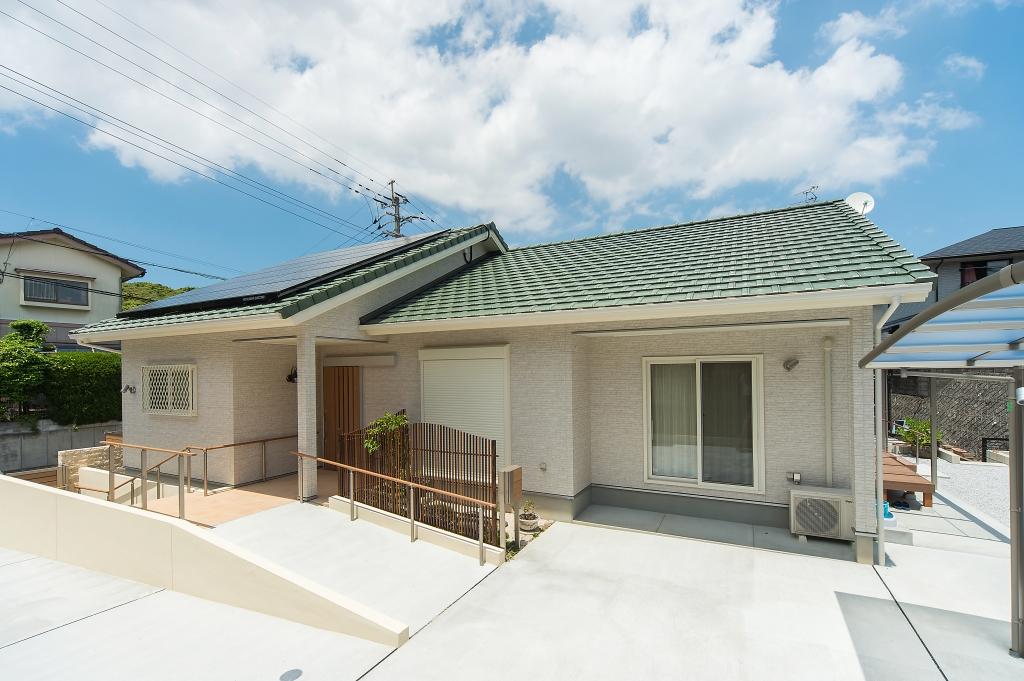 注文住宅 福岡市 心豊かにゆったりと暮らす、平屋の住まい