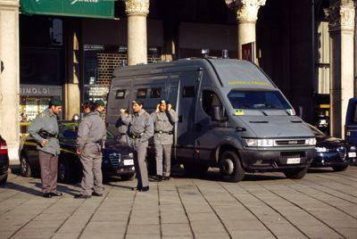 イタリアの警察車輌