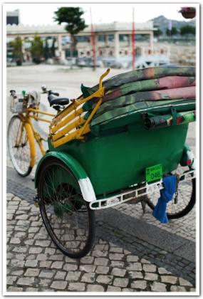 三輪車@マカオ