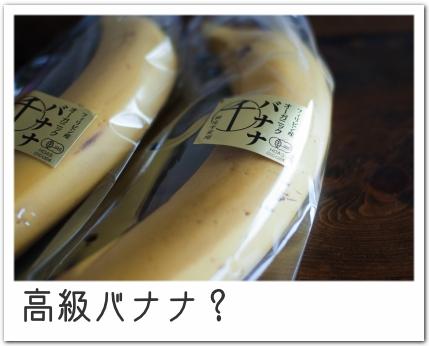 千疋屋のバナナ