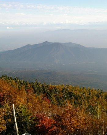 富士山から見下ろし紅葉