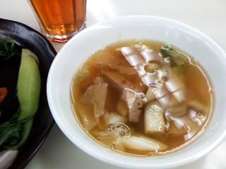 焼き豚のスープ