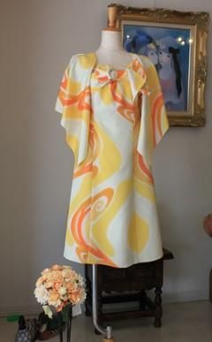 昭和初期の着物をリメイク