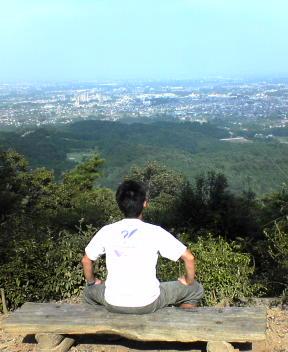 日和田山の山頂