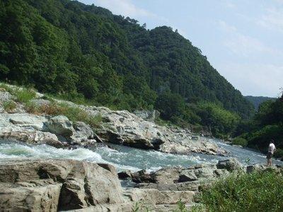 長瀞の河原