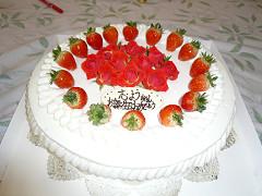 特注ケーキ2