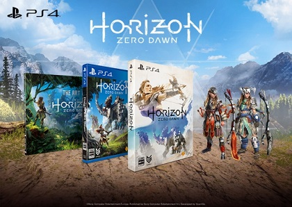 Horizon Zero Dawn,1 初回特典一覧・攻略本について 購入を決めた理由