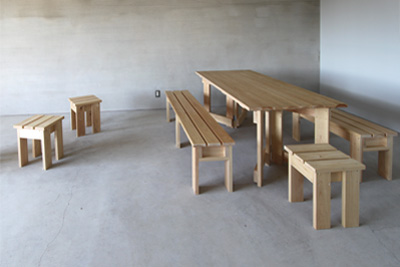 さとやまの家具