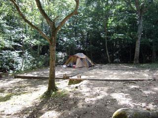 内浦山キャンプ場