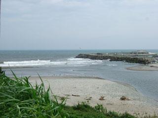 富岡港付近