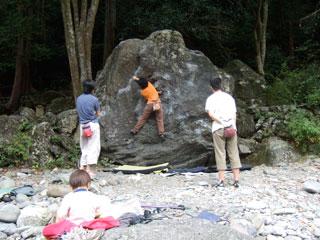 マミ岩トラバース