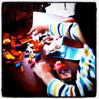 初めてのレゴ制作