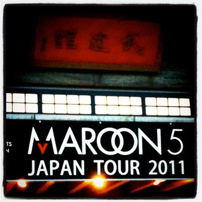 MAROON5 at Budokan