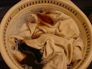 ユニフォーム洗濯
