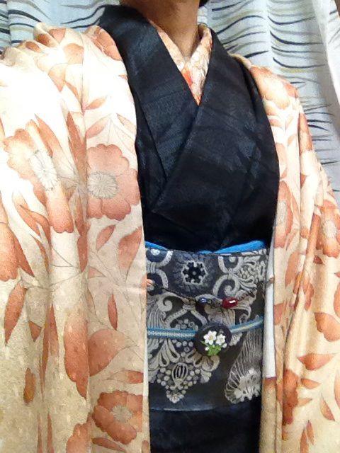 羽織と大島紬