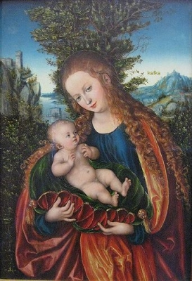 Lucas Cranach the Elder Madonna with Child 1518