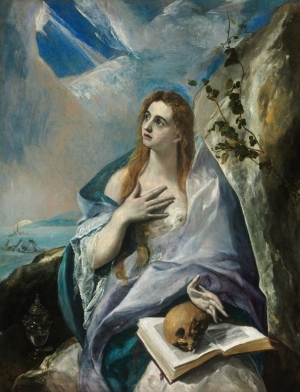 Mary Magdalen in Penitence (1576-78). Museum of Fine Arts, Budapest