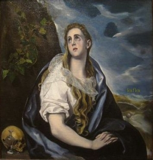 The Repentant Magdalen (c. 1577).  Worcester Art Museum, Worcester