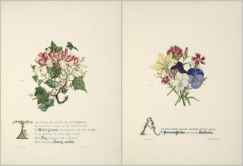 Poems on several  The flowers of Milton