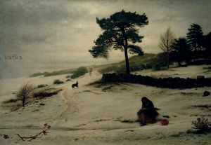Blow, blow thou winter wind 1892 (Auckland Art Gallery Toi o Tamaki), John Everett Millais