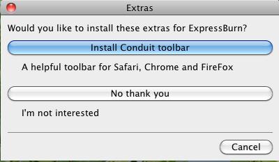 Express Burn BD焼き込み