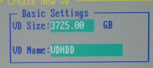 RAID構築 PERCH700
