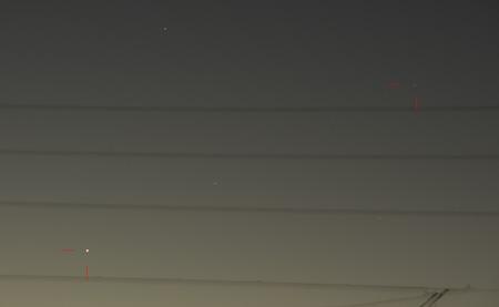 アイソン彗星 都内