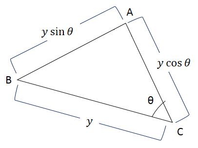 MATCH PINKは余弦定理な関係