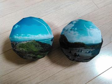 球体プリント de ロケット