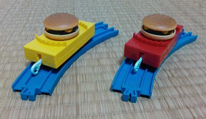 ハンバーガー貨物 2015 ハッピーセット