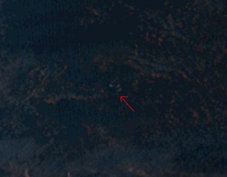 ひまわりから見る H-IIA F30 打ち上げ 夜光雲