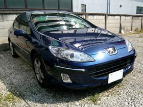 Peugeot,407,プジョー,フロントグリル