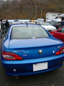 Peugeot,407,プジョー,フレンチ・ブルー・ミーティング,406クーペ
